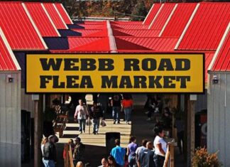 Webb Road Flea Market
