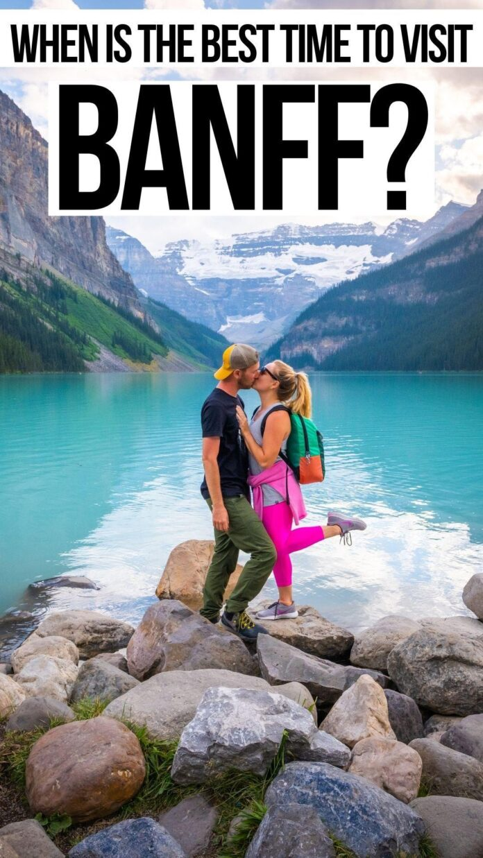 best time to go to banff to avoid crowds